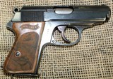 WALTHER Model PPK Pistol, Pre WWII, 32 ACP Cal.