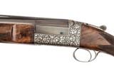 """Holland & Holland 'Deluxe Single Barrel Trap Model' 12 Gauge Shotgun - 32"""" Barrel - Ken Hunt Engraved"""