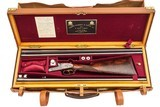 J Purdey & Sons Deluxe Side-by-Side 12 Gauge with Extra Barrel Set - R. Delcour Engraved - Master Engraver to P. Grifnee - 13 of 16