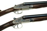 William Ford 20 Gauge Pair Sidelock Ejector Side-by-Side Shotguns