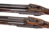 HOLLAND & HOLLAND ROYAL DELUXE PAIR 12 GAUGE OVER-AND-UNDER SHOTGUNS - 4 of 14