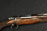 ASPREY DELUXE BOLT ACTION RIFLE - .375 H&H MAGNUM - 1 of 20
