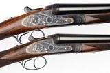 ARRIETA MODEL 578 ROUND BODY SIDELOCK EJECTOR PAIR 12 GAUGE SHOTGUNS - 1 of 19