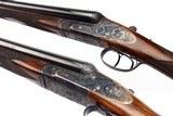 ARRIETA MODEL 578 ROUND BODY SIDELOCK EJECTOR PAIR 12 GAUGE SHOTGUNS - 5 of 19