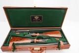 ARRIETA MODEL 578 ROUND BODY SIDELOCK EJECTOR PAIR 12 GAUGE SHOTGUNS - 14 of 19