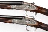 ARRIETA MODEL 802 SIDELOCK EJECTOR PAIR 20 GAUGE SHOTGUNS - 2 of 16