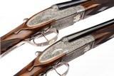 ARRIETA MODEL 802 SIDELOCK EJECTOR PAIR 20 GAUGE SHOTGUNS - 5 of 16
