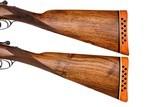 WEBLEY & SCOTT BOXLOCK EJECTOR 12 GAUGE PAIR SIDE-BY-SIDE SHOTGUNS - 6 of 16