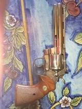 "Colt Python 6"" Nickel 1966 Original Box"
