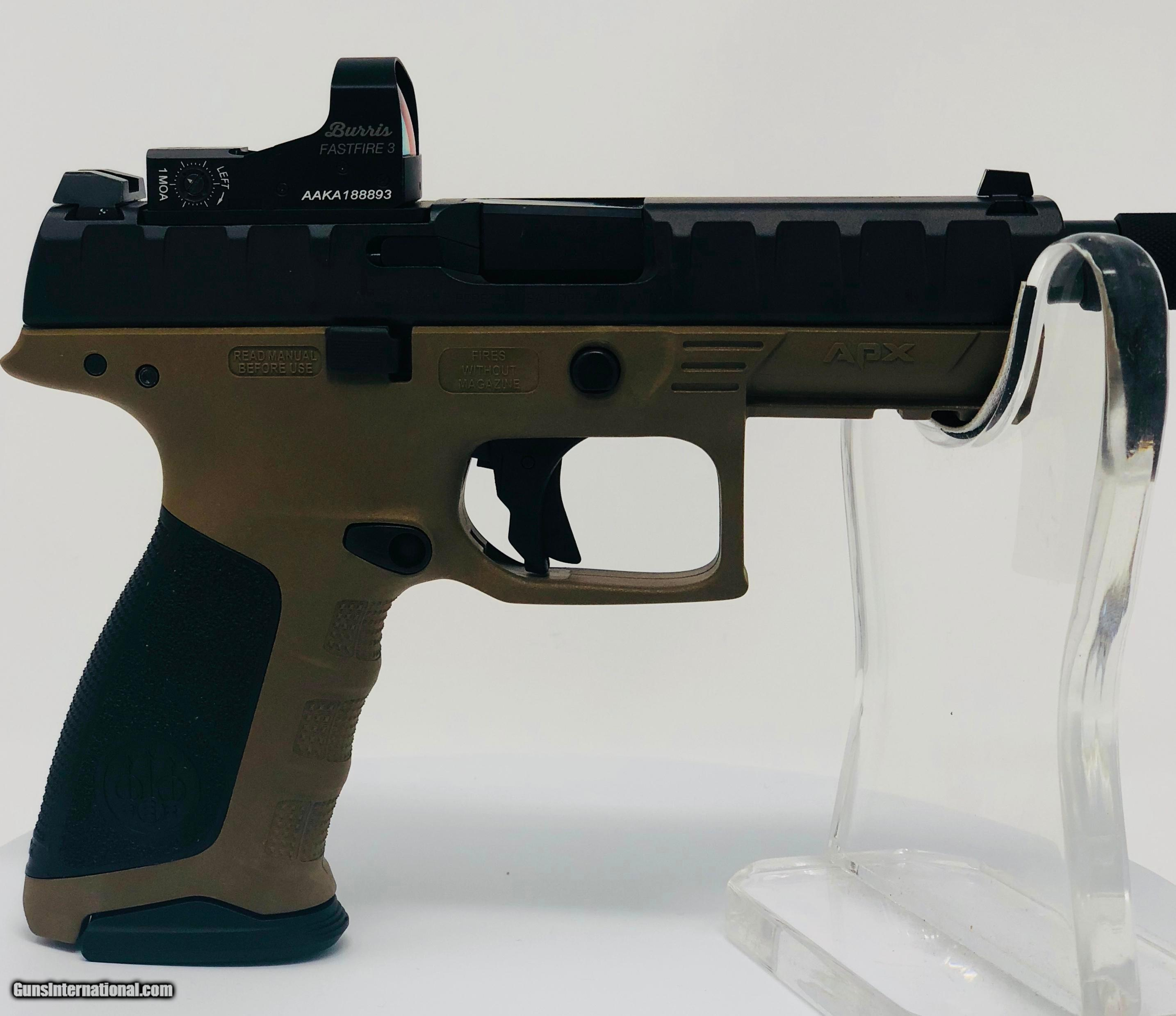 Beretta APX Combat with Burris Fast Fire Red Dot