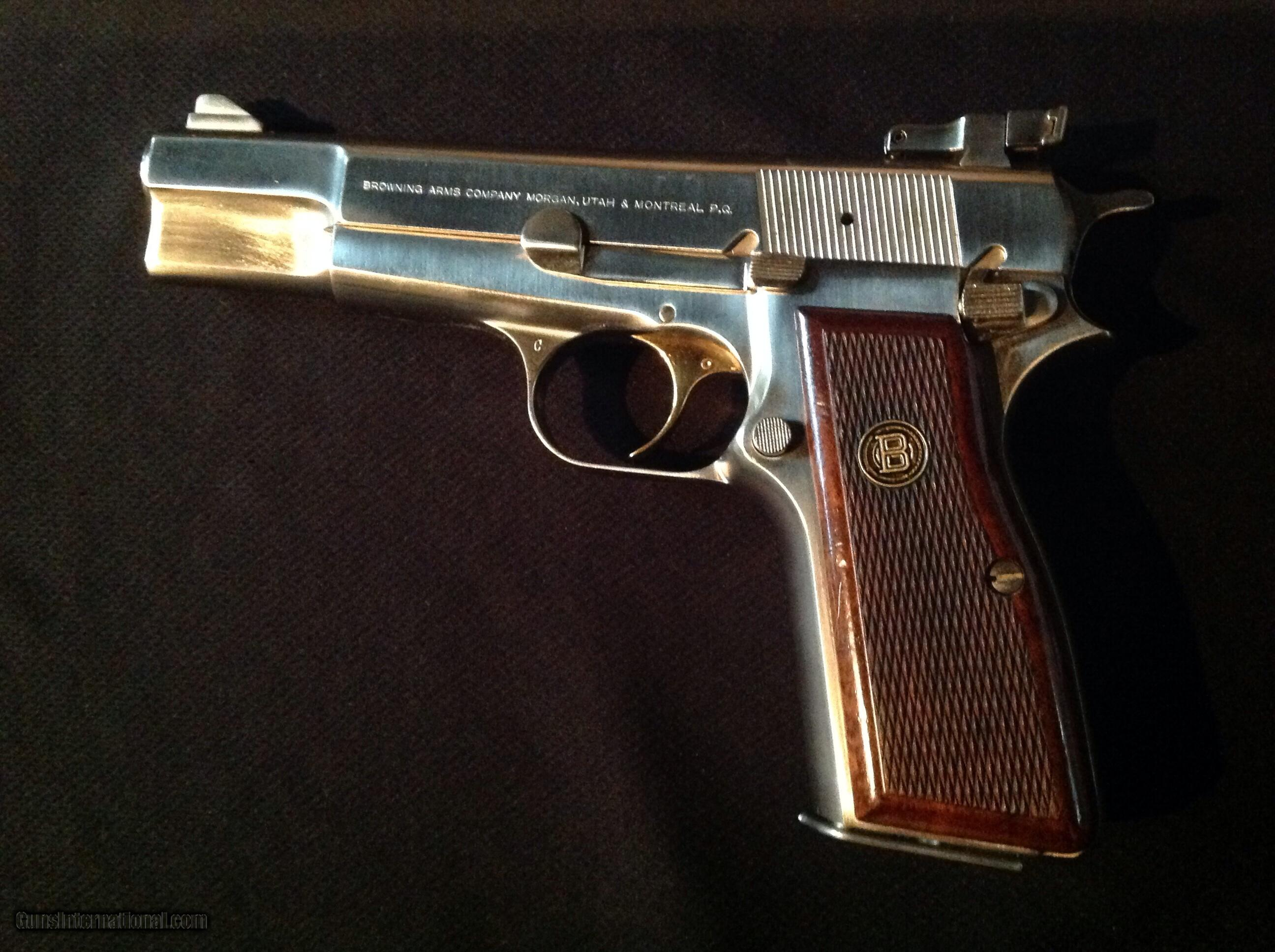 Browning Hi-Power Nickel