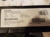 "Browning Citori Satin Lightning 3.5"" LNIB unfired"
