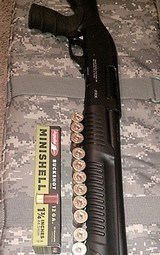 NEW IN BOX FX-M4 12 GAUGE TACTICAL PUMP ACTION SHOTGUN BY FEDERAL REM. SERVICE ISSUE