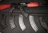 3 NEW 30 RD AK47 ZASTAVA YUGO BOLT HOLD OPEN 7.62X39 STEEL LUG MAGAZINES USMC