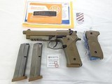 New in Box Beretta M9A3, Factory Threaded Barrel, Rail Gun,9mm, FDE & Black
