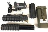 LMT-M203 40mm Launcher, Insight Technologies AN/PSQ18 Laser, KAC M4-RAS Plus More Accessories - 1 of 9