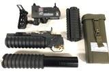 LMT-M203 40mm Launcher, Insight Technologies AN/PSQ18 Laser, KAC M4-RAS Plus More Accessories