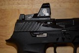 Sig Sauer P320 RX Full Size 9mm Romeo 320F-9-BSS-RX Factory New In Box with two free additional magazines - 6 of 7
