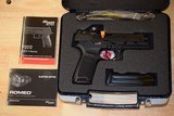 Sig Sauer P320 RX Full Size 9mm Romeo 320F-9-BSS-RX Factory New In Box with two free additional magazines - 4 of 7