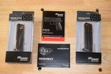Sig Sauer P320 RX Full Size 9mm Romeo 320F-9-BSS-RX Factory New In Box with two free additional magazines - 3 of 7