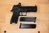 Sig Sauer P320 RX Full Size 9mm Romeo 320F-9-BSS-RX Factory New In Box with two free additional magazines - 5 of 7