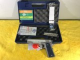 NEW COLT GOVERNMENT MODEL COMPETITION SERIES .38 SUPER, STAINLESS STEEL