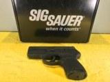 SIG SAUER P250 SUB COMPACT, 9MM, BLACK NITRON FINISH