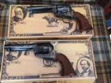 Evil Roy set of SASS custom revolvers - 44-40 Consecutive Serial Numbers