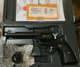 Ruger Single Six Convertible, .22 Mag, .22LR, New Model Single Six, Almost new, maybe a box thru it.