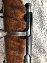 Savage Sporter 22 with Custom stock from the 1930's--refunished/recheckered by a Griffin & Howe out-source stockmaker - 5 of 10