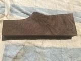exhibition feather crotch walnut xxxx stock blank