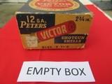 Peters Victor Shotgun Shells 12 Gauge Empty Box - 5 of 7