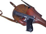 Excellent vintage Swiss Army SIG P49 PistolP210w. Holster