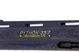 SUPERB 1973 FACTORY ENGRAVED COLT PYTHON - 12 of 19