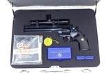 1981 Colt Python Hunter .357 Magnum Revolver & Halliburton Case