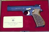 125 Years SIG cased 1978 jubelee Pistol