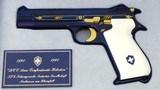 NIB cased SIG P210700 yearHelvetic Confederation jubilee Pistol