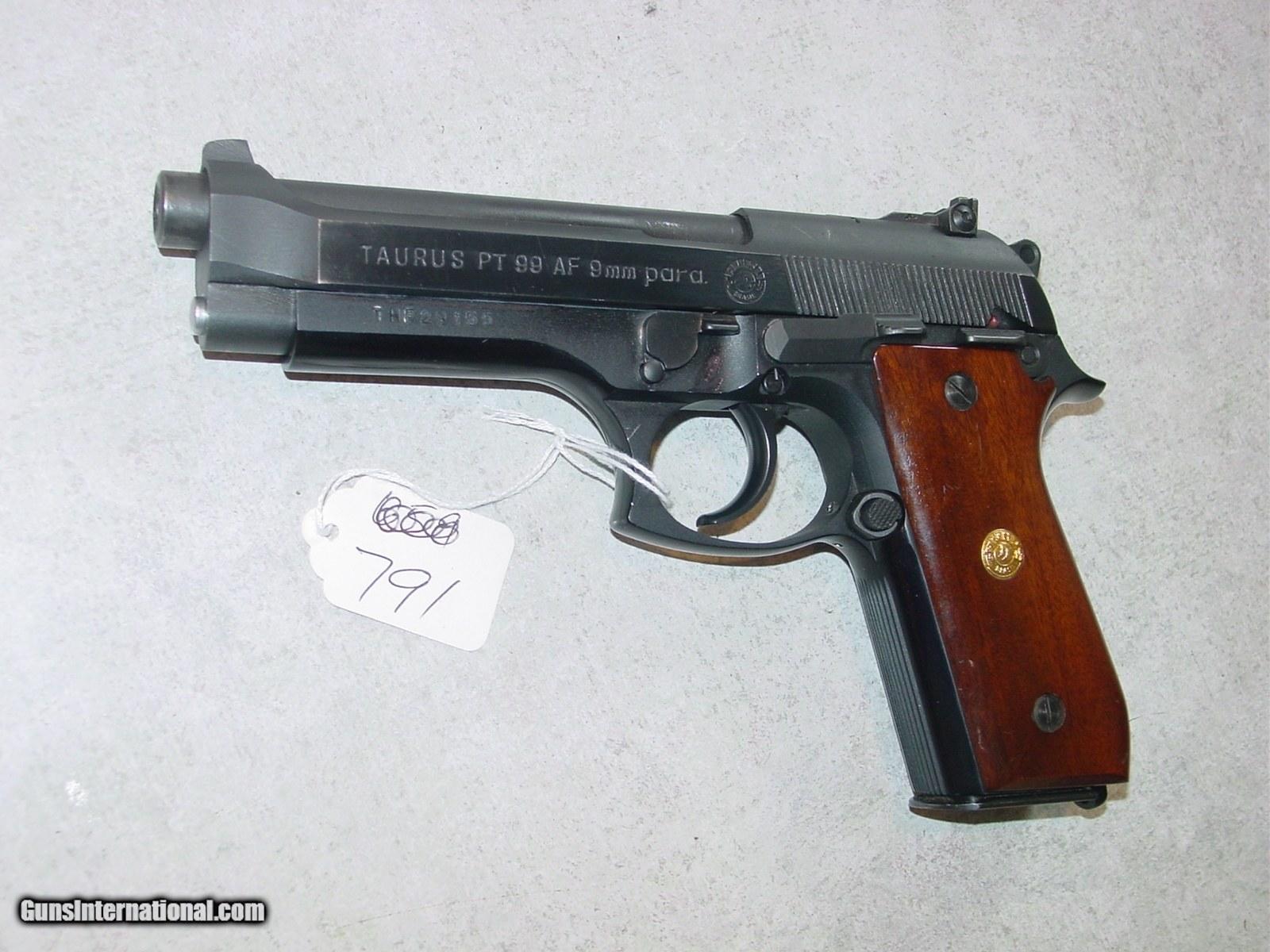 Taurus PT99 AF 9mm 9x19 blue