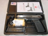 Ruger SR45 2 tone Stainless steel 45acp