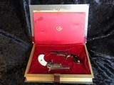 Colt Derringer Set .22 Short in False Book Case