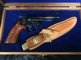 Smith & Wesson 19-3 Texas Ranger Commemorative Set with Matching Knife