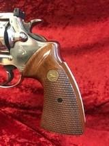 Colt Trooper Mk III Nickel .357 Magnum - 4 of 14