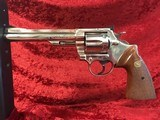 Colt Trooper Mk III Nickel .357 Magnum