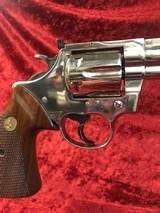 Colt Trooper Mk III Nickel .357 Magnum - 9 of 14