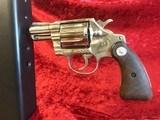 "Colt Cobra .38 Special 2"" Nickel"