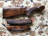 Perazzi MX12 SC3 Stock and Forend