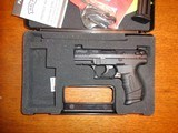 "walther p-22 3 1/2"" like new with attachment pt."
