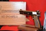 Browning Hi-Power NICKEL plated 1980