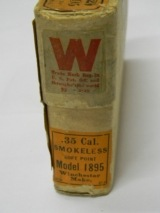 Winchester 35 Win Cartridges for Model 1895
