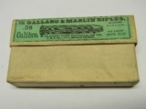 U.M.C. Remington 38-55 Winchester Black Powder Cartridges, 255 Gr. Bullet